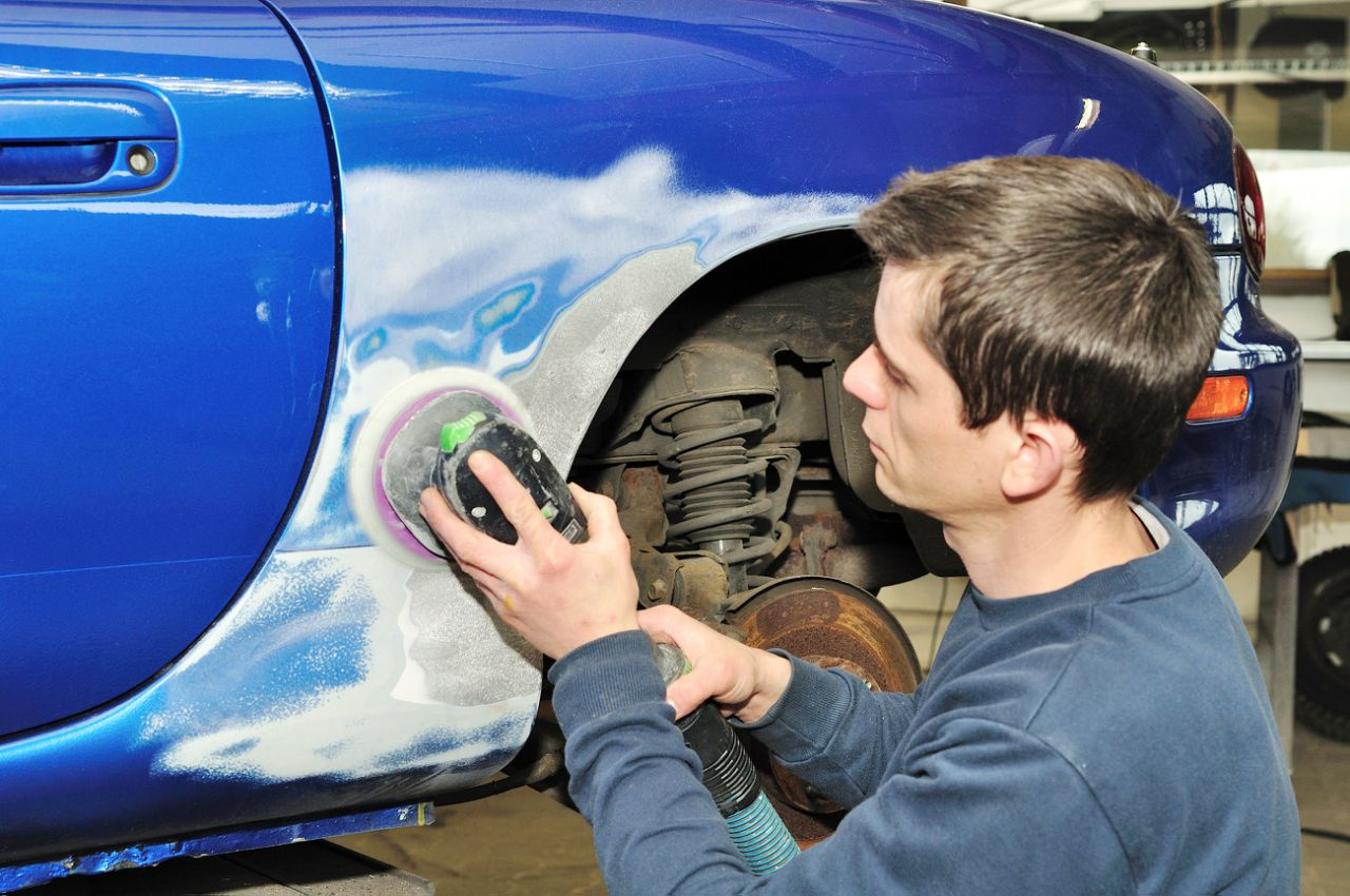 Подготовка авто для покраски